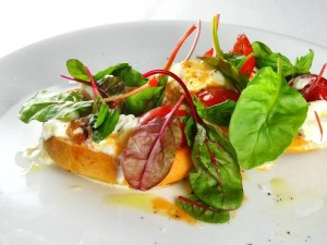 veggie egg scramble